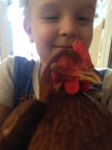 Reuben with chickaletta